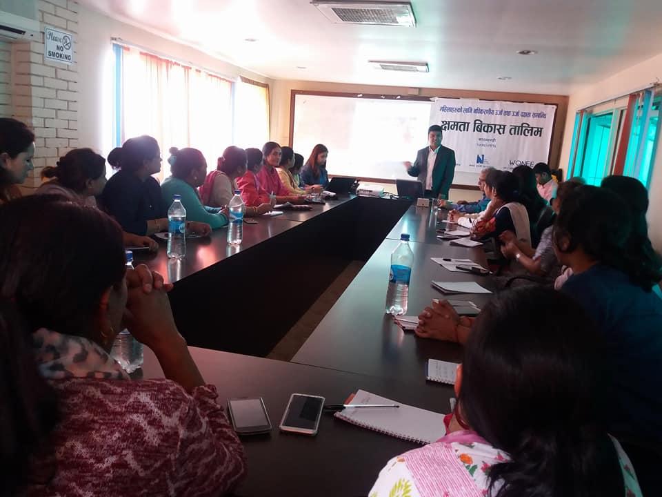 Renewable Energy Training to Women